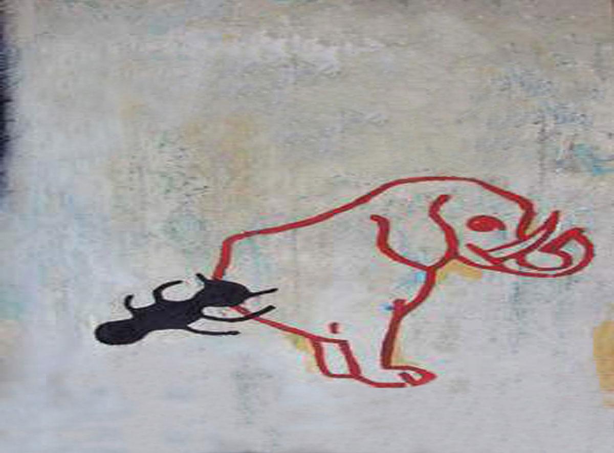 Bild Ameisen und Elefanten
