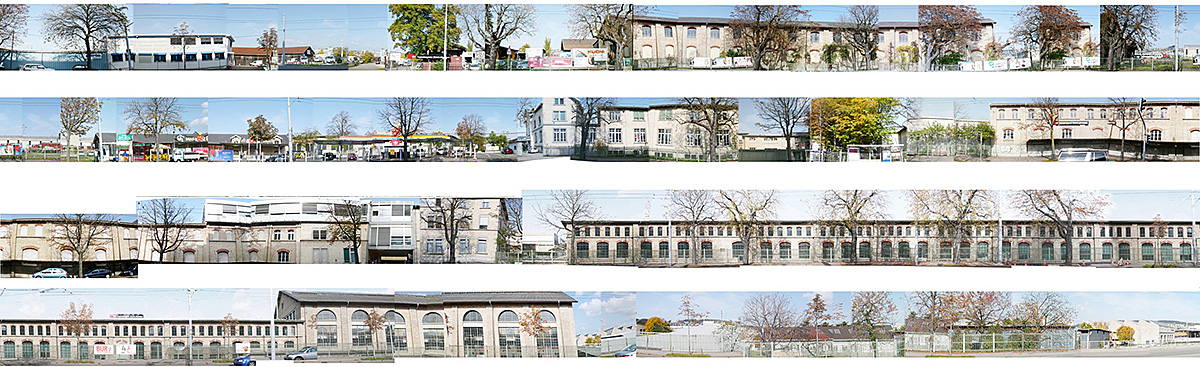 Collage Industriegebäude Letzibach