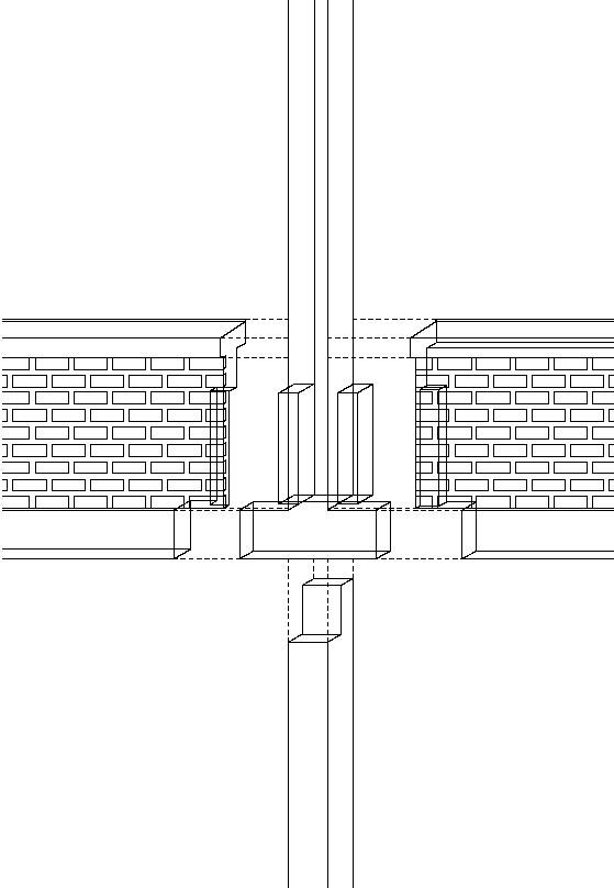 Überbauung Letzibach: Gefügte Fassadenkonstruktion