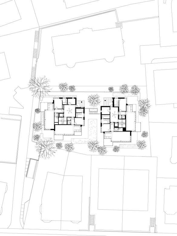 Erdgeschoss mit Umgebung