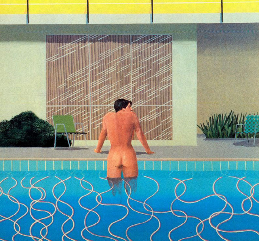 David Hockney: Peter is Getting out of Nick's pool
