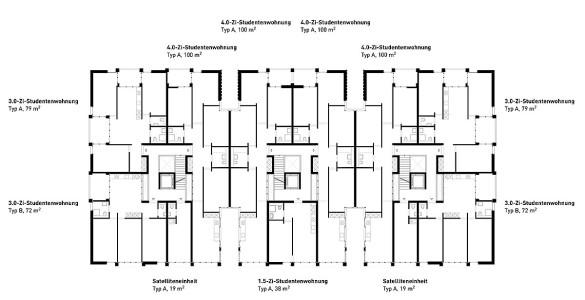 Grundrisse-N1_200_Studentenwohnungen
