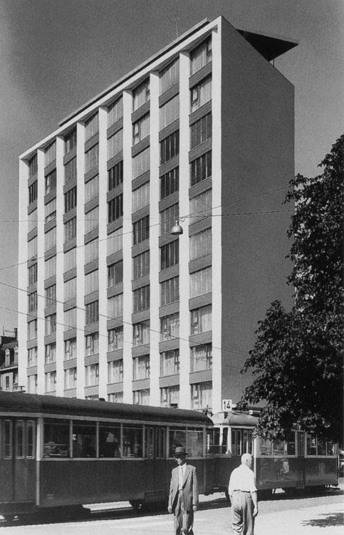 Hochhaus Schmiede Wiedikon, Werner Stücheli (1957)