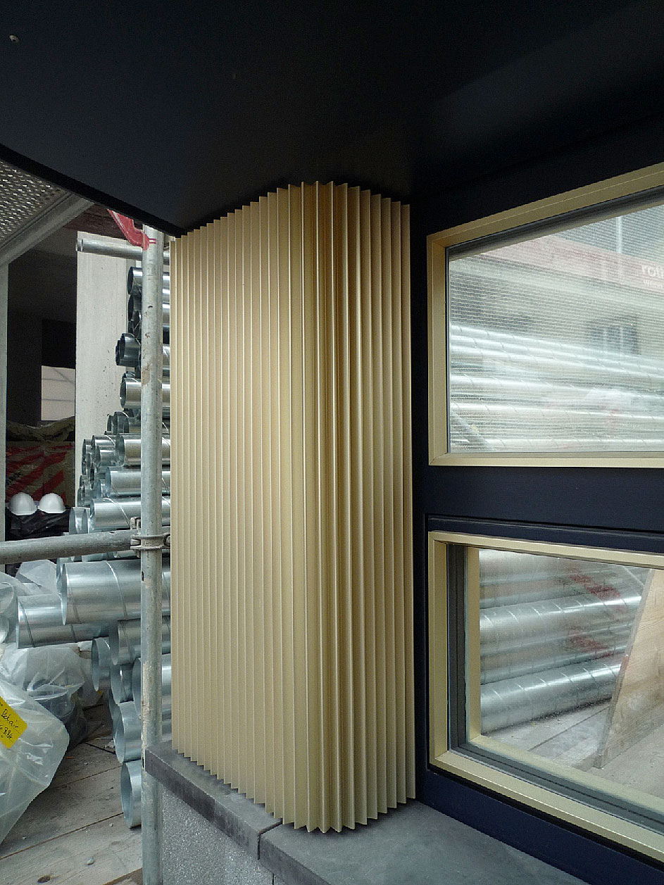 Hohes Haus West: Fassadenmuster Erdgeschoss/Sockel
